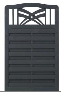 Plus Rondo hegn antracit 90x142-146
