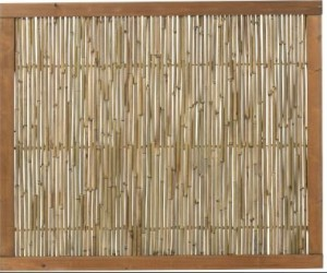 Plus bambus hegn 120x100cm