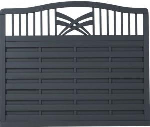 Plus Rondo hegn antracit 180x142-150