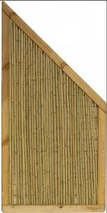 Plus bambus hegn lux 90x180-90cm