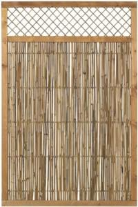 Plus bambus hegn med espalier 120x180cm
